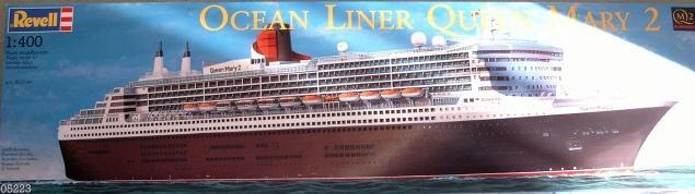 Queen Mary 2 in 1:400 von Revell Qm2-0311