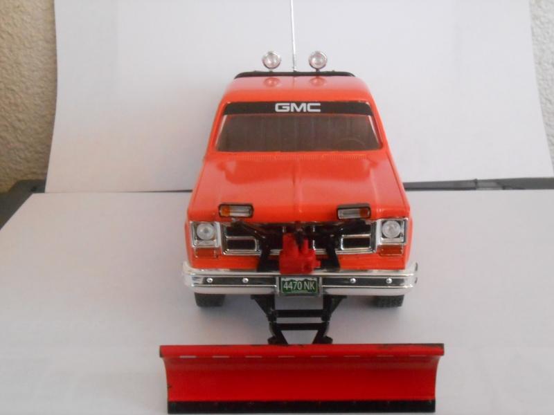gmc pickup  chasse neige. (Fini) Dscn0416