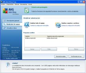 AVG Anti-Virus System Free Edition 8.0.176 4_18-110