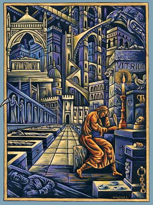 Les 72 Anges de la Kabbale ou 72 faces de Dieu . - Page 3 Vitrio11