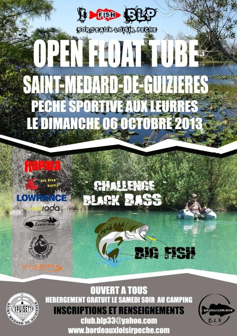 Open float tube de Saint Médard de Guizières 2013 Affich10