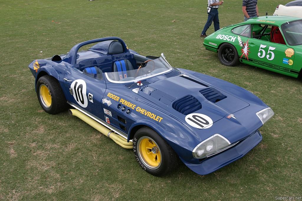 Chevrolet Corvette Grand Sport 1966 Spyder Roger Penske #10 1963_c10