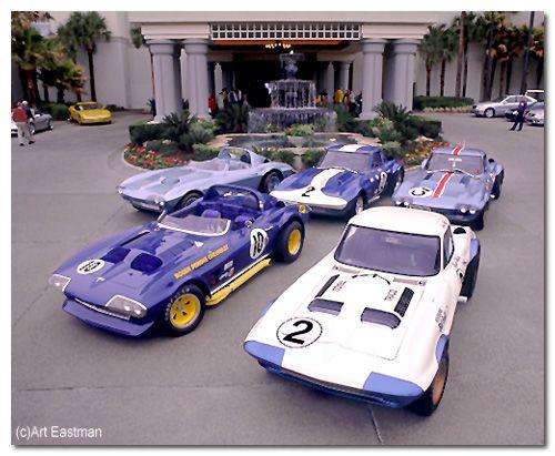 Chevrolet Corvette Grand Sport 1966 Spyder Roger Penske #10 All_5_10
