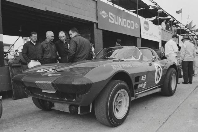Chevrolet Corvette Grand Sport 1966 Spyder Roger Penske #10 Gs_19610