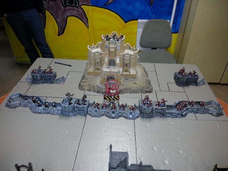 Rapport de bataille - Ruche Behemoth vs Space Marines 20130710