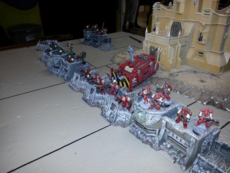 Rapport de bataille - Ruche Behemoth vs Space Marines 20130711