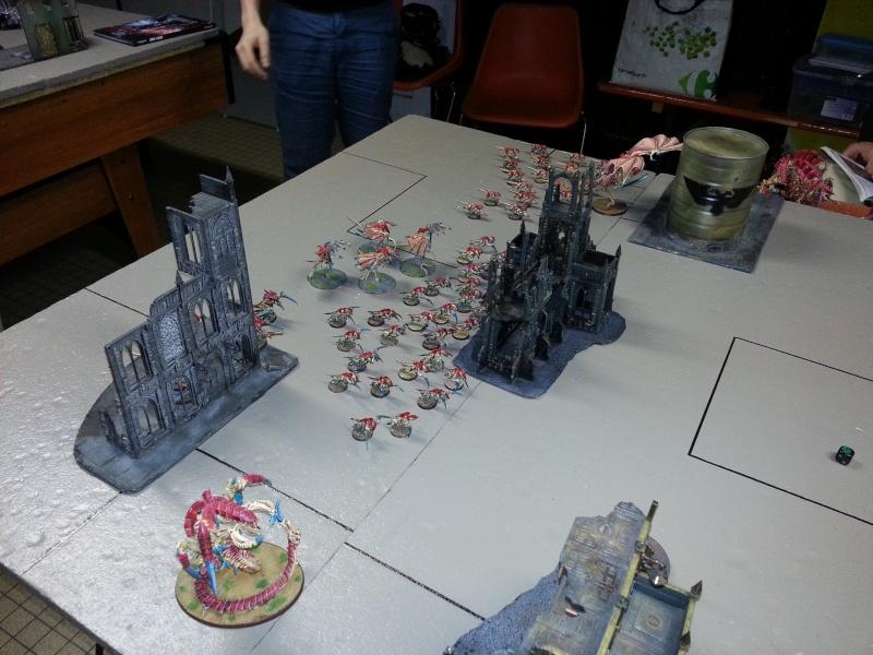 Rapport de bataille - Ruche Behemoth vs Space Marines 20130712