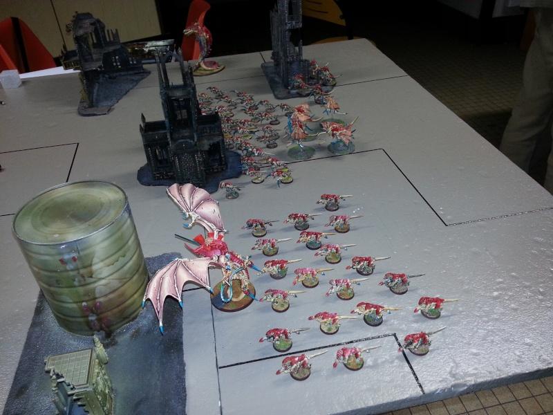 Rapport de bataille - Ruche Behemoth vs Space Marines 20130713