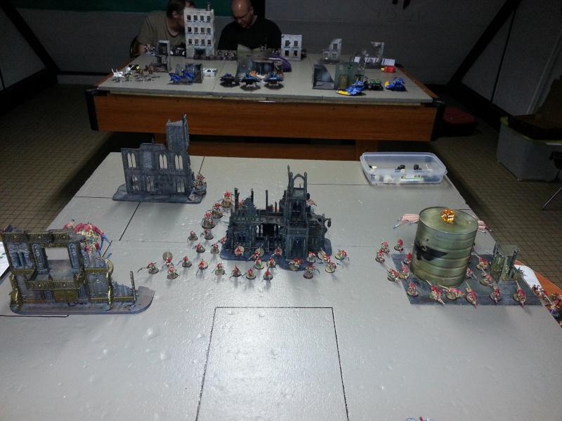 Rapport de bataille - Ruche Behemoth vs Space Marines 20130715