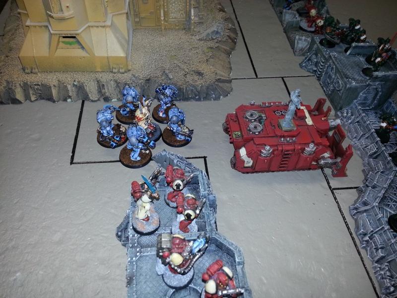 Rapport de bataille - Ruche Behemoth vs Space Marines 20130716