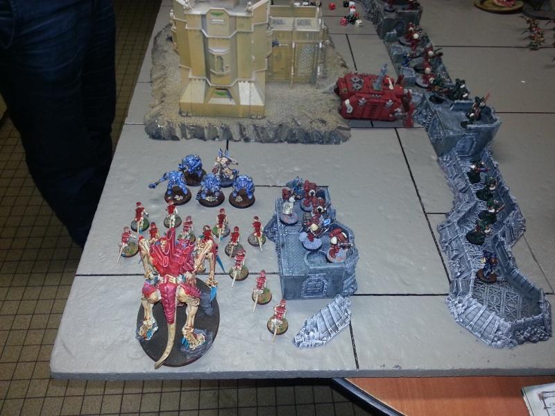 Rapport de bataille - Ruche Behemoth vs Space Marines 20130718