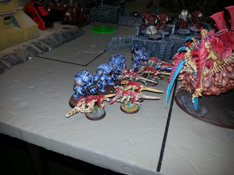 Rapport de bataille - Ruche Behemoth vs Space Marines 20130720