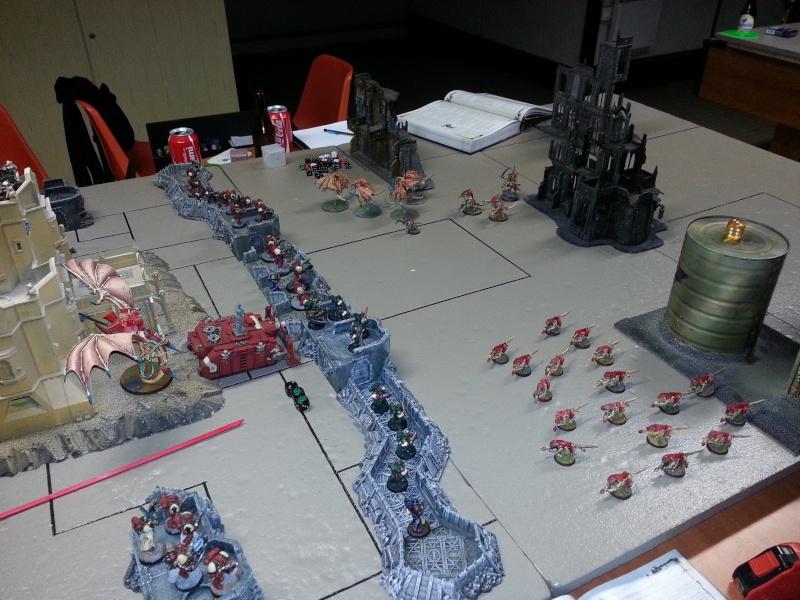 Rapport de bataille - Ruche Behemoth vs Space Marines 20130722