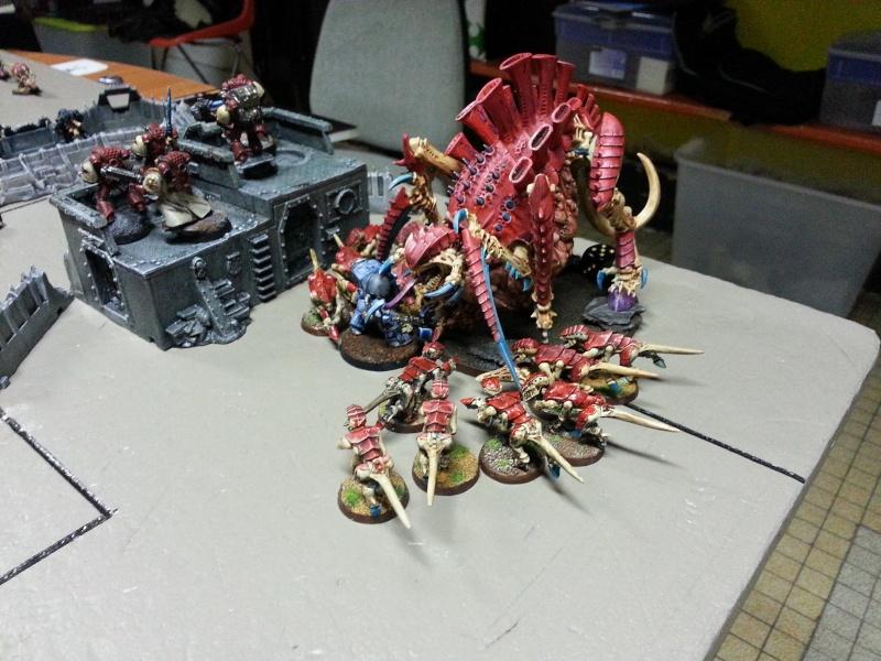 Rapport de bataille - Ruche Behemoth vs Space Marines 20130723