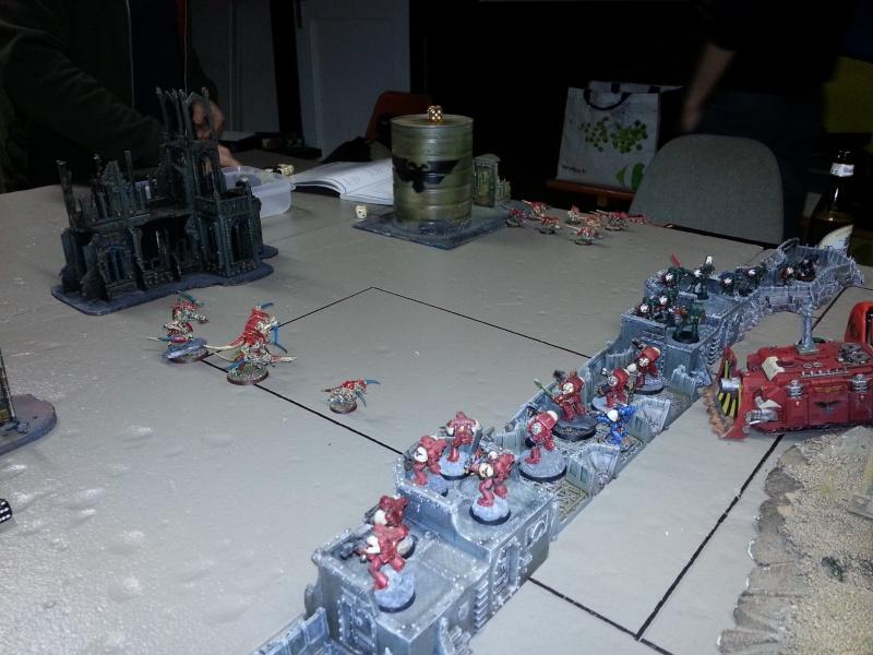 Rapport de bataille - Ruche Behemoth vs Space Marines 20130724