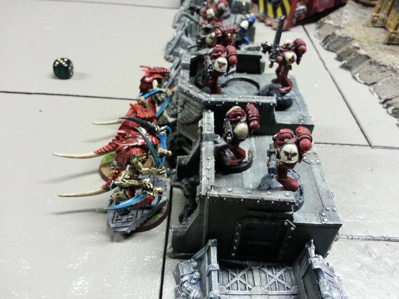 Rapport de bataille - Ruche Behemoth vs Space Marines 20130725