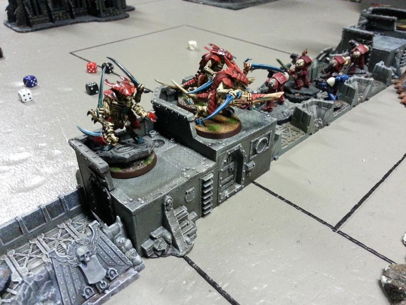 Rapport de bataille - Ruche Behemoth vs Space Marines 20130726