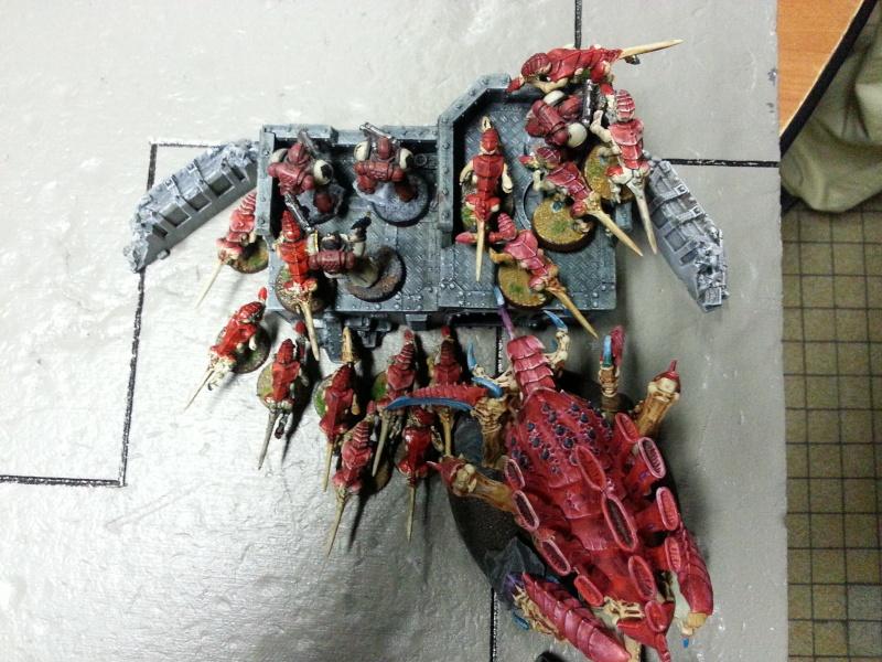 Rapport de bataille - Ruche Behemoth vs Space Marines 20130727