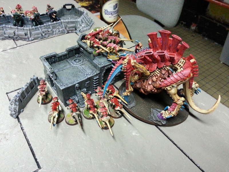 Rapport de bataille - Ruche Behemoth vs Space Marines 20130728