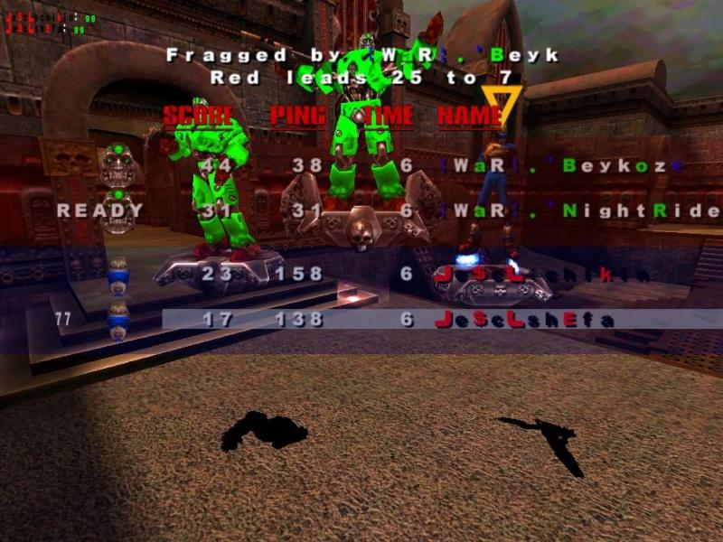 vs WaR (0-3) Quake311