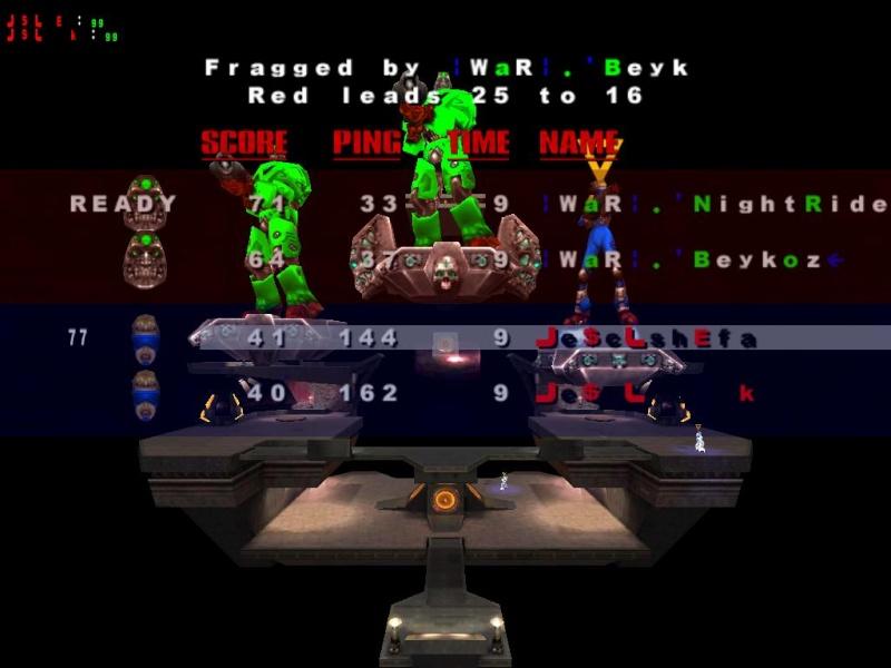 vs WaR (0-3) Quake312