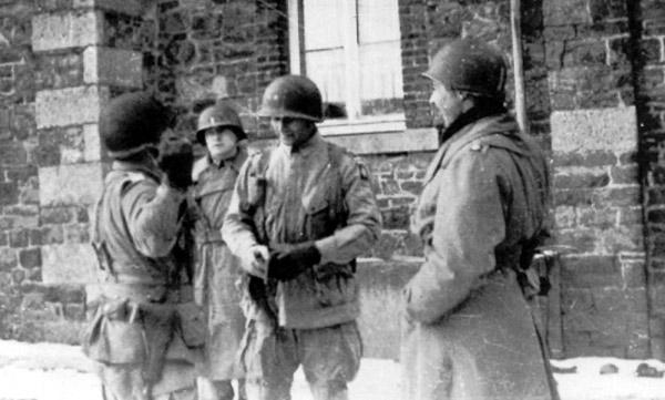 Recce de la marche de 82nd Airborne Division Bulge10