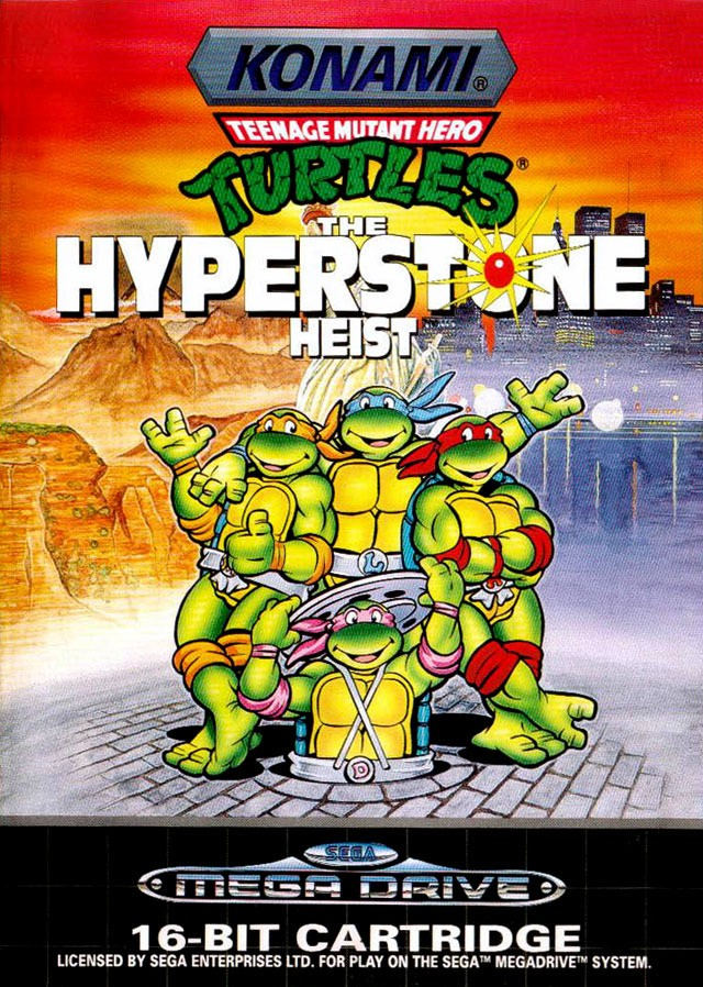 [RT] Teenage Mutant Ninja Turtles the Hyperstone Heist - 1992 - MegaDrive Tmnt_t10