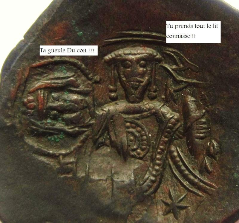 La vie de couple des empereurs Byzantin sur les monnaies 10010