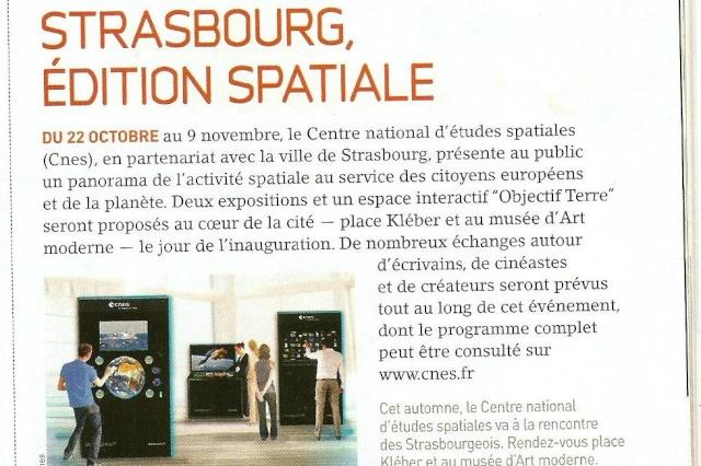 Strasbourg, édition spatiale Strasb10