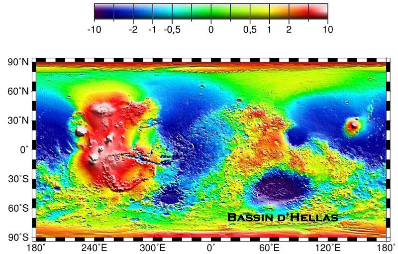 La sonde MRO révèle de nouveaux aspects de Mars - Page 2 Topogr10
