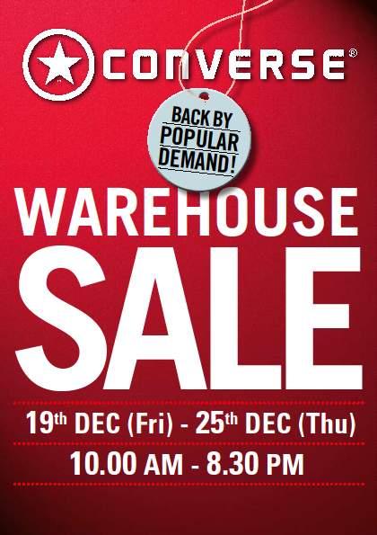 Converse Warehouse Sales Dec 2008 Conver10