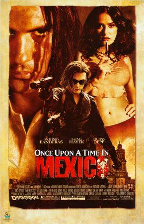 والان مع انطونيو بانديرس وسلمى حايك والمبدع جونى ديب فى الفيلم الاسطورى Once Upon A Time In Mexico بحجم 390 ميجا Yvy60610