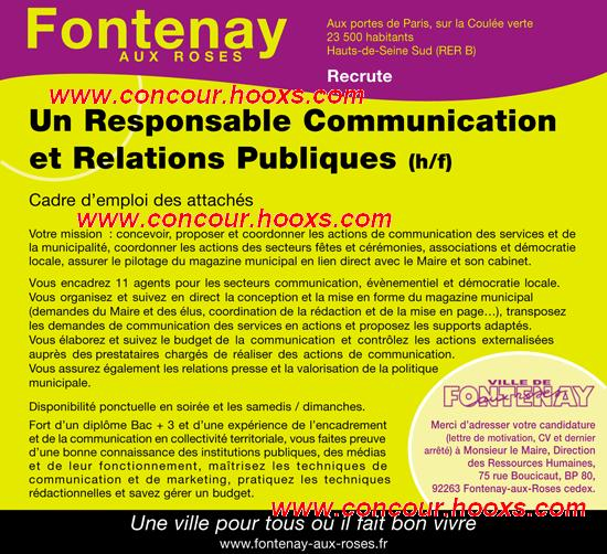Responsable Communication (H/F) 0146