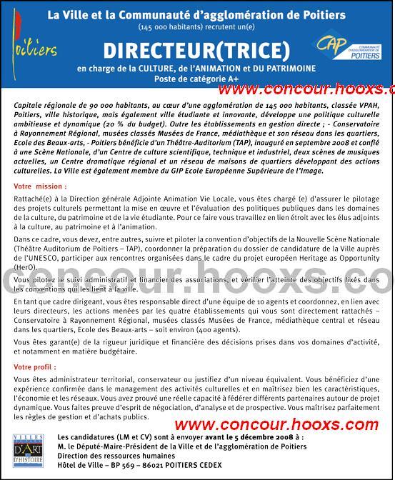 Directeur (H/F) 0162