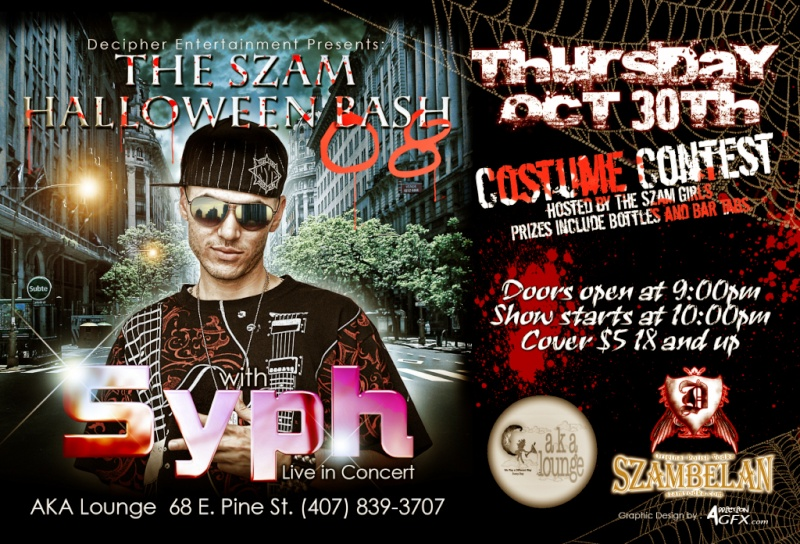 DECIPHER ENTERTAINMENT PRESENTS: THE SZAM HALLOWEEN BASH 08 Hallow10