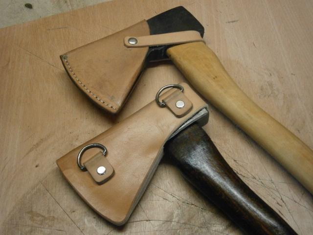[fabrication] étuis en cuir pour outils ... P8160112