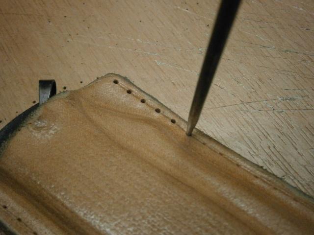 [fabrication] étuis en cuir pour outils ... P8190116