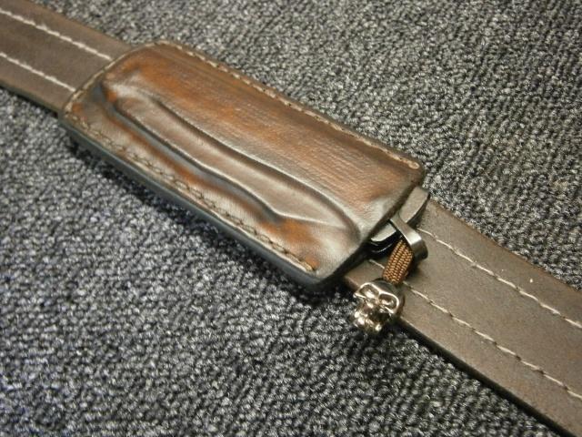 [fabrication] étuis en cuir pour outils ... P8200210