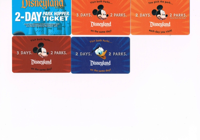 Passeport Disneyland Paris 0710