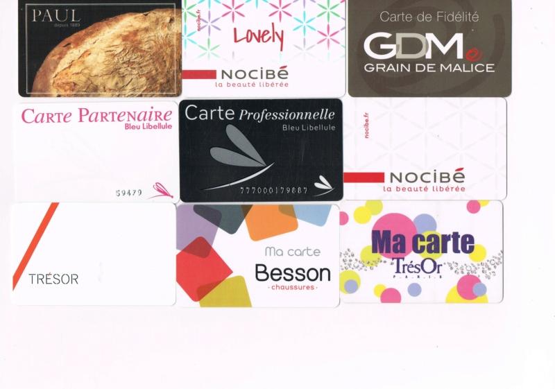Divers cartes de fidélité Cartes14