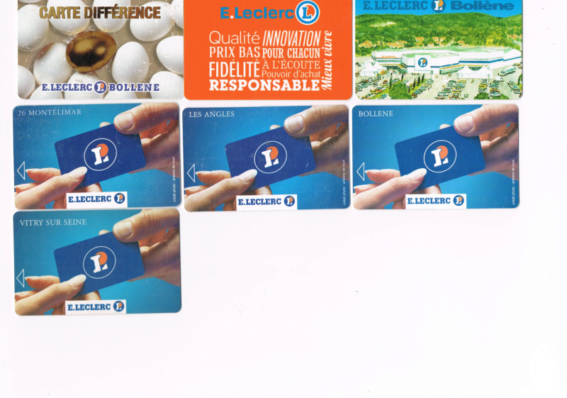 Divers cartes de fidélité Cartes17