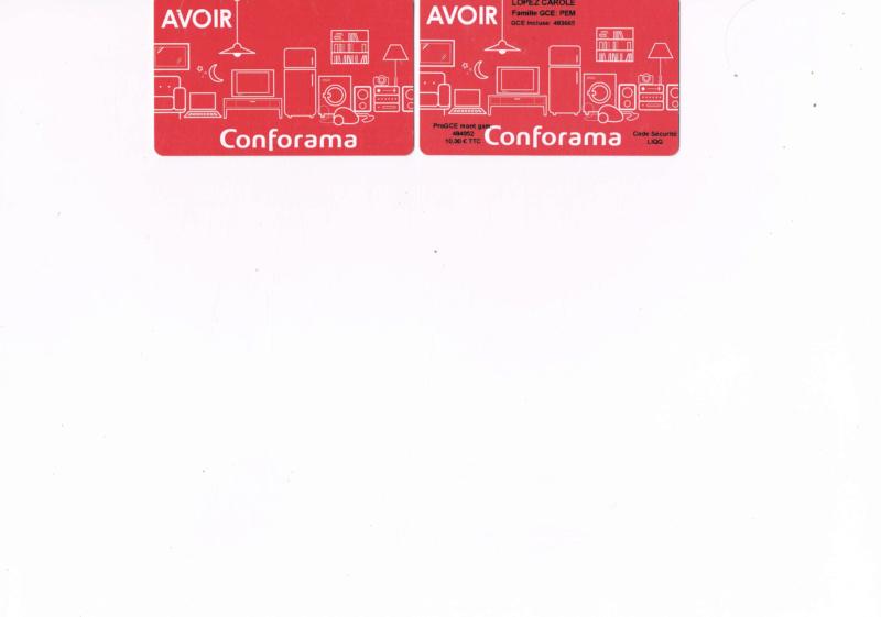 Conforama Confor14