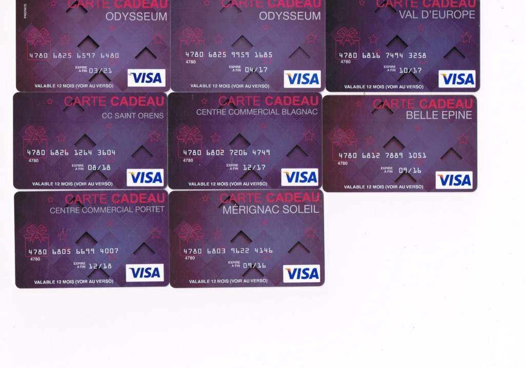 Visa, Quartz- Centres commerciaux Visa_510