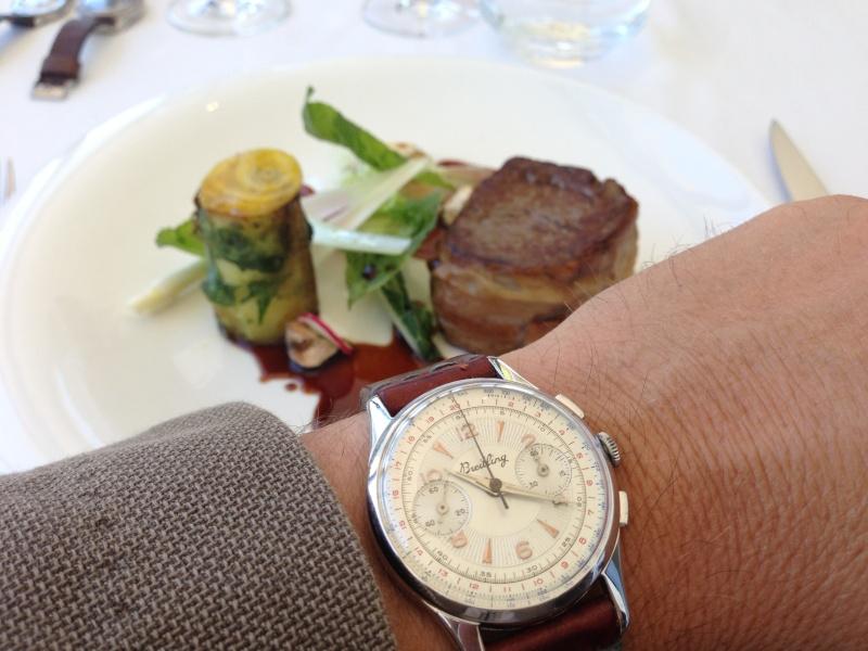 Les déjeuners du Sud sont souvent gastronomiques et copieux ! Img_2813