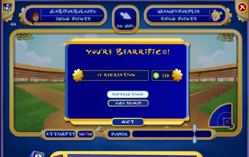 Bear-2-Bear Baseball Game10