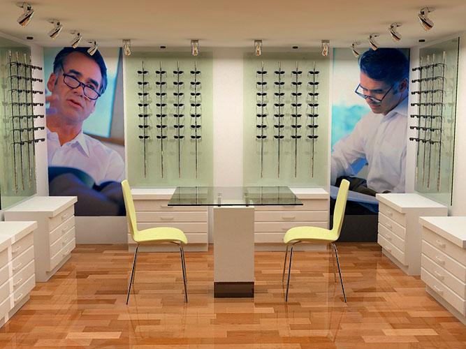 dd00ee2c3 تصميم رائع لمحل نظارات 110