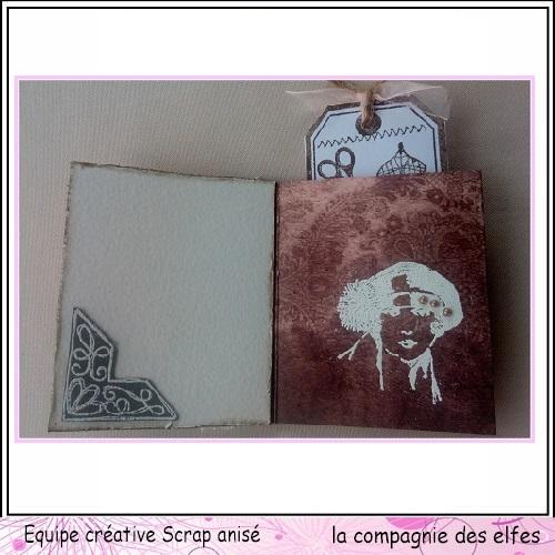 25 novembre Sabine carte avec chapeau ... Sa14110