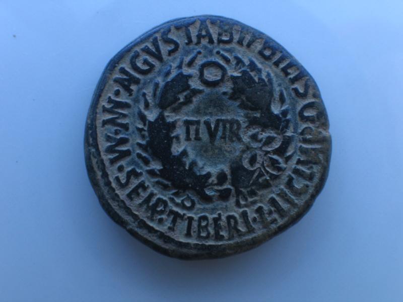 As de Bilbilis con contramarca, reinado de Augusto. Img_1810