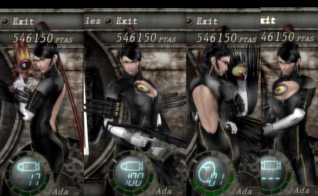 MGS4 Raiden,Bayonetta,Ultra Violet Sword, Yep! just like that... Ada2yu10