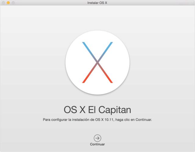 MacOs El Capitán USB Booteable Osx-el10